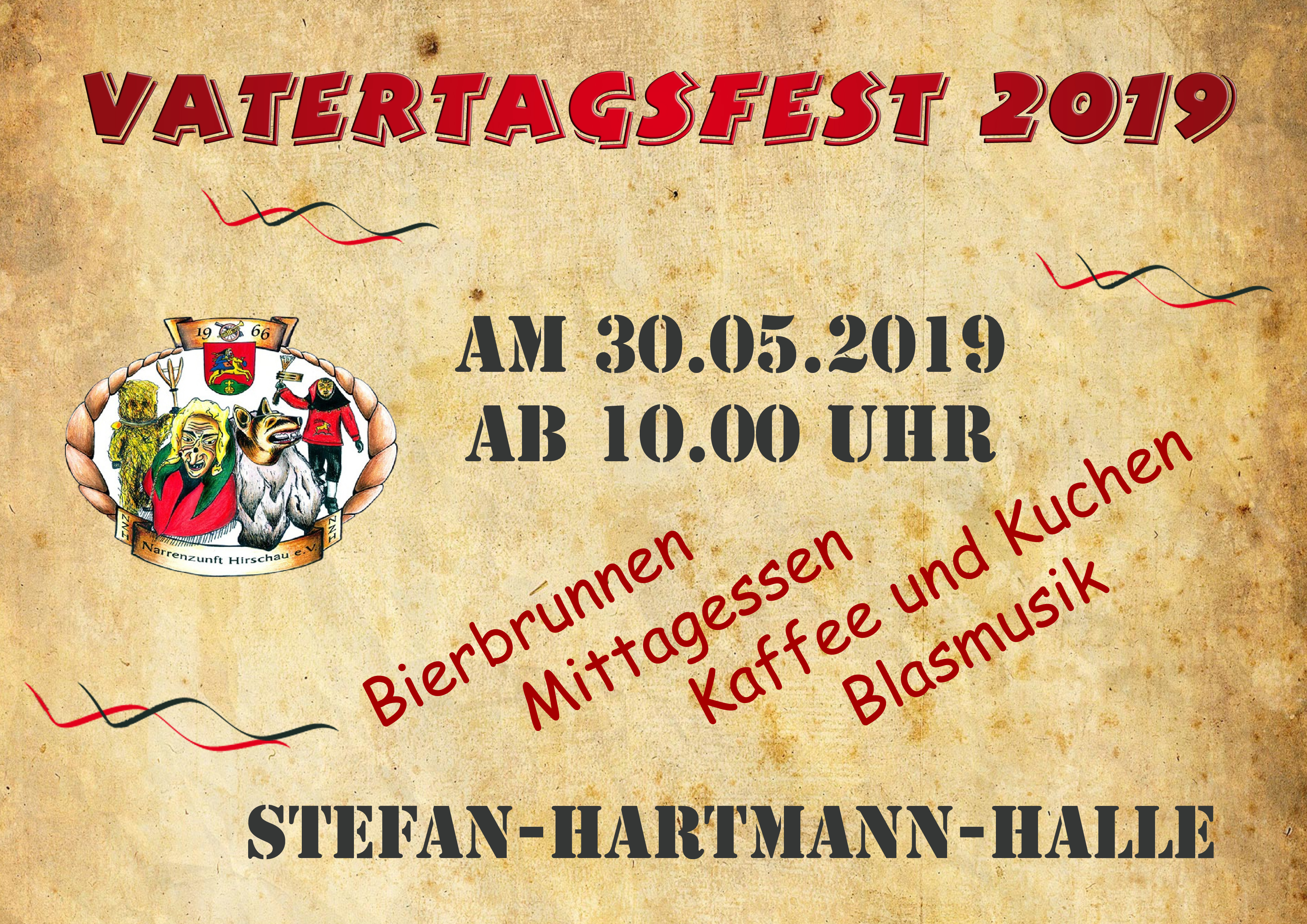 Vatertag Warm UP 2019